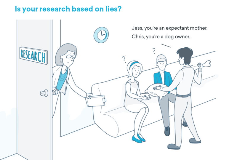 Is your research based on lies?