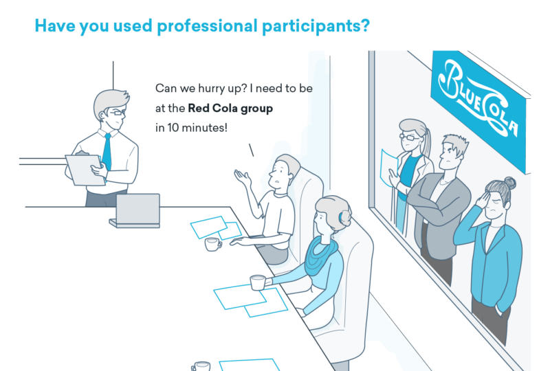 Have you used professional participants?
