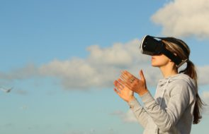 Active users of augmented reality for tech company